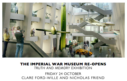 THE IMPERIAL WAR MUSEUM REOPENS