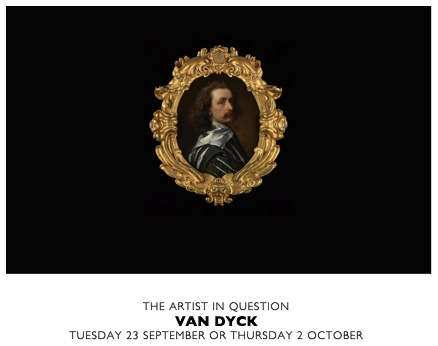 THE ARTIST IN QUESTION VAN DYCK