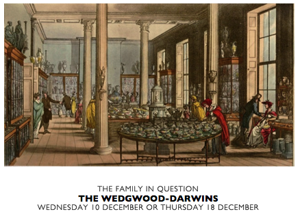 THE FAMILY IN QUESTION WEDGWOOD DARWIN