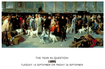 THE YEAR IN QUESTION 1895