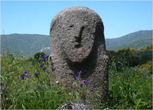 ANCIENT CORSICAN STONE CARVING